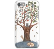 4 seasons iPhone Case/Skin