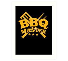 BBQ MASTER Art Print
