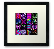 Out of the Boxes! Framed Print