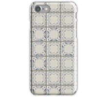 Blue and White Tile iPhone Case/Skin