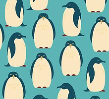 Happy penguins by Silmen