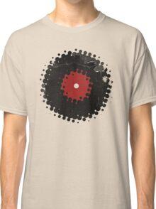 Grunge Vinyl Records Retro Vintage 50's Style Classic T-Shirt