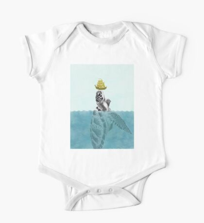 The Giant Sea Turtle  One Piece - Short Sleeve