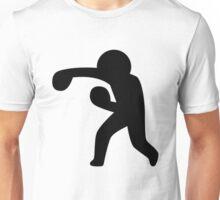 Boxing Stickman Unisex T-Shirt