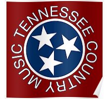 Tennessee Country Music Poster