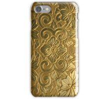 Golden Tile Pattern iPhone Case/Skin