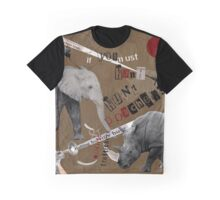 Hunt Wildlife Poachers Concept Art Graphic T-Shirt
