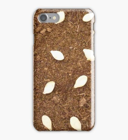Pumpkin seeds iPhone Case/Skin