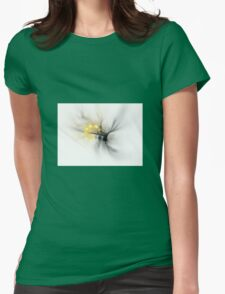 Fractal Wasp Womens Fitted T-Shirt