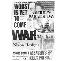 America 1945-2013 Poster