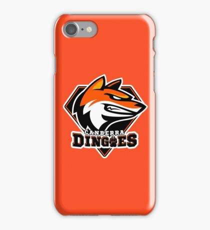 Canberra Dingoes Ice Hockey Team iPhone Case/Skin