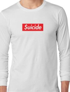Suicide (SUICIDEBOYS Supreme) Long Sleeve T-Shirt