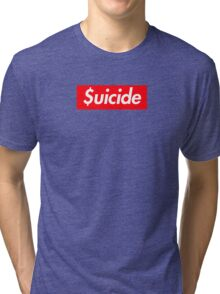 Suicide (SUICIDEBOYS Supreme) Tri-blend T-Shirt