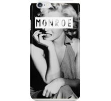 Monroe #1 iPhone Case/Skin
