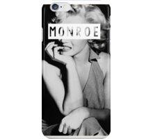 Monroe #1 iPhone Case/Skin