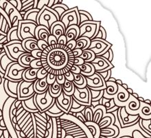 Henna Tattoo | Globetrotter Sticker