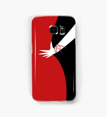 The Red Lady - Back Samsung Galaxy Case/Skin