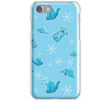 Blue Poodle iPhone Case/Skin