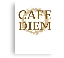 Cafe Diem Canvas Print
