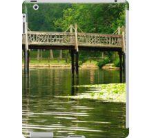 #415  Walking Bridge Of Spring Lake iPad Case/Skin