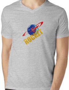ROCKET VINTAGE 2 Mens V-Neck T-Shirt