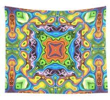 Colorful Mandala Pattern Wall Tapestry