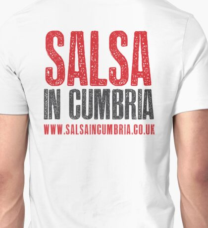 Salsa in Cumbria - Logo on Back Unisex T-Shirt