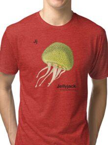 Jj - Jellyfruit // Half Jellyfish, Half Jackfruit Tri-blend T-Shirt