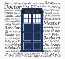 Tardis & names by cophine324b21