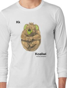 Kk - Koaliwi // Half Koala, Half Kiwifruit Long Sleeve T-Shirt