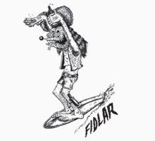 FIDLAR Surf Dog by JDIB