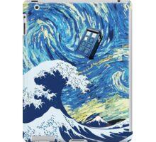 Tardis Great Wave iPad Case/Skin