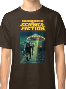 Unknown Worlds of Science Fiction Classic T-Shirt