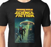 Unknown Worlds of Science Fiction Unisex T-Shirt