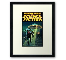 Unknown Worlds of Science Fiction Framed Print