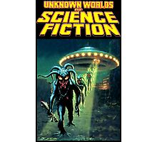 Unknown Worlds of Science Fiction Photographic Print