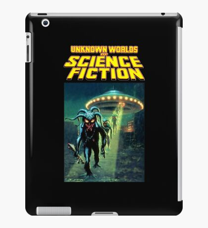 Unknown Worlds of Science Fiction iPad Case/Skin