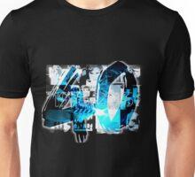 u2 40 birthday - blue Unisex T-Shirt