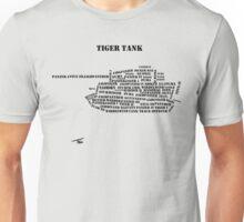 German Tanks of WW2 Unisex T-Shirt