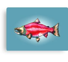 The Salmon of Doubt Canvas Print