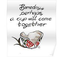 Broken cup Poster