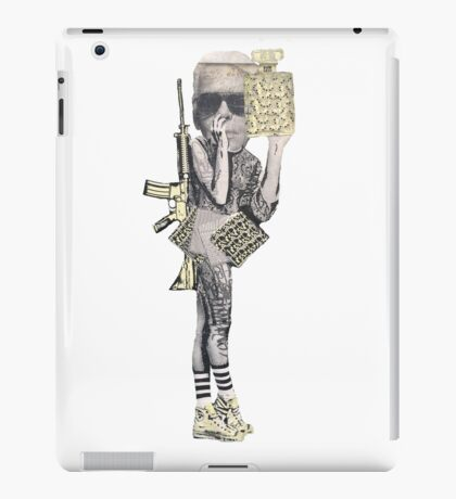 Graffiti Warrior iPad Case/Skin