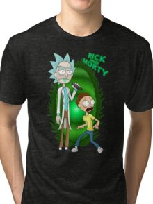 rick morty Tri-blend T-Shirt