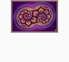 Spirituel abstract poster designs - Lotus Spiral Unisex T-Shirt