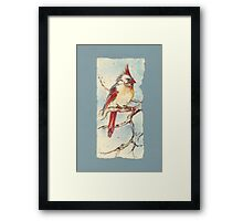 With Touches of Red Framed Print