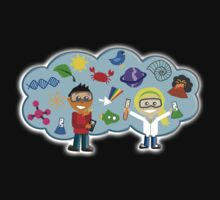 Science, Physics, Explosion, Kids, Experiments One Piece - Short Sleeve