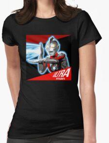 """""""ULTRAMAN"""" Womens Fitted T-Shirt"""