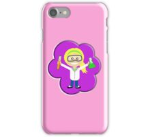 Science, Girl, Gal, Physics, Chemistry, Experiments, Pink iPhone Case/Skin