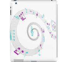 Music Notes Swirl Design iPad Case/Skin