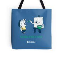 Mis obras me dan de comer - Blue&Green v2 Tote Bag